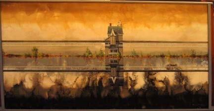 4206: PAUL GORKA (american 20th century) REFLECTIONS OF