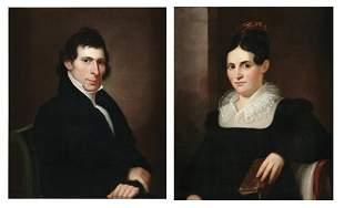FRANCIS MARTIN DREXEL (1792-1863) A PAIR