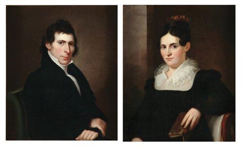 5: FRANCIS MARTIN DREXEL (1792-1863)  A PAIR