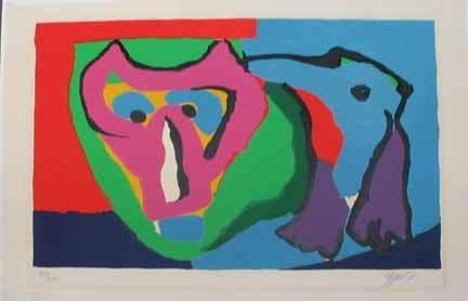 4: KAREL APPEL, (DUTCH B. 1921), I AM AN ANIMAL