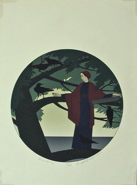 5: WILL BARNET, (AMERICAN B. 1911), ARIADNE