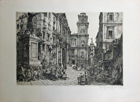 7: LINO BIANCHI BARRIVIERA, (ITALIAN B. 1906) FOUR ETCH