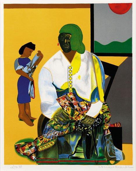 10: ROMARE BEARDEN, (AMERICAN 1912-1988), MECKLENBERG A