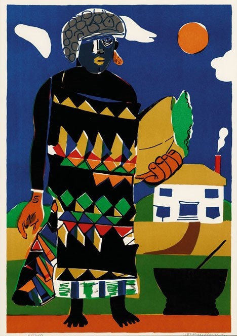 11: ROMARE BEARDEN, (AMERICAN 1912-1988), PILATE
