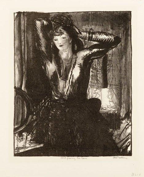 13: GEORGE WESLEY BELLOWS, (AMERICAN 1882-1925), GIRL F