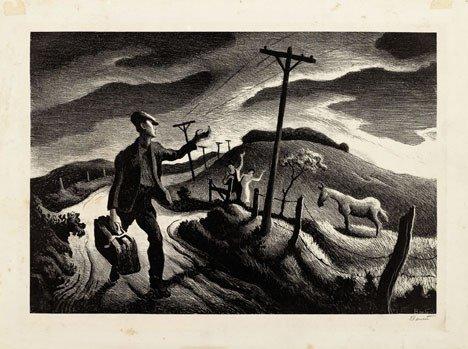 17: THOMAS HART BENTON, (AMERICAN 1889-1975), THE BOY