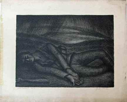 20: JULIUS BLOCH, (AMERICAN 1888-1966) SIX LITHOGRAPHS,