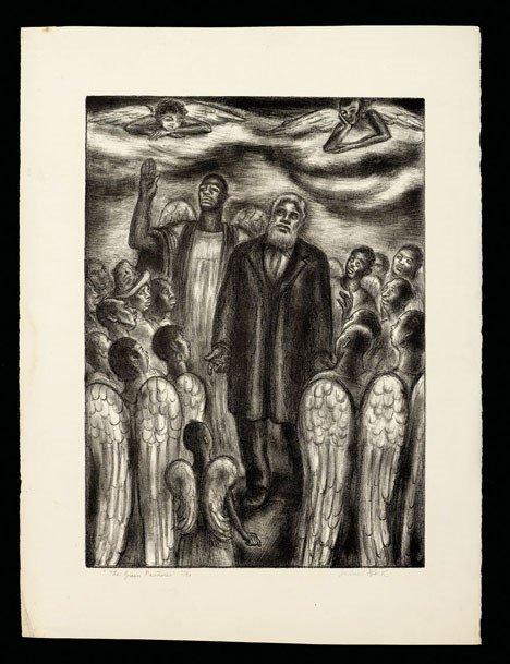 21: JULIUS BLOCH, (AMERICAN 1888-1966), THE GREEN PASTU