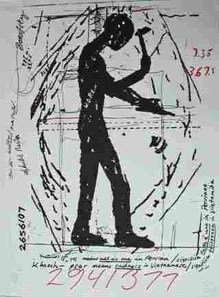 JONATHAN BOROFSKY, (AMERICAN B. 1942), 2941377