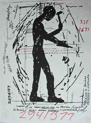 23: JONATHAN BOROFSKY, (AMERICAN B. 1942), 2941377