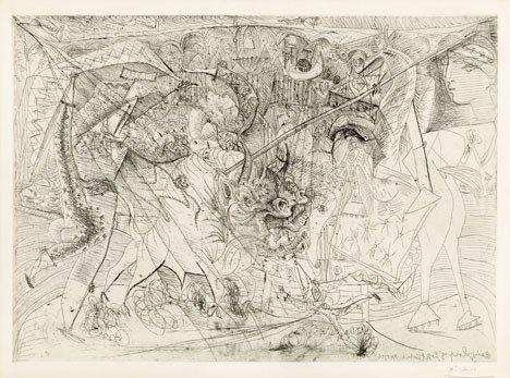 334: PABLO PICASSO, (SPANISH 1881-1973), LA GRANDE CORR