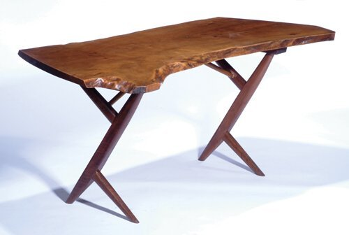 384: GEORGE NAKASHIMA ENGLISH WALNUT FREE-EDG