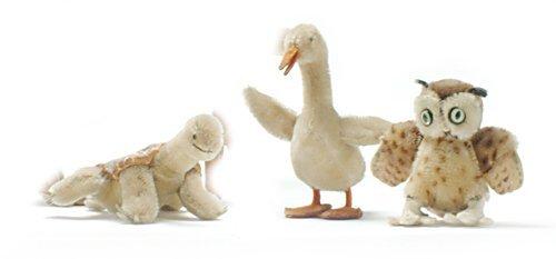 446: THREE STEIFF STUFFED ANIMALS