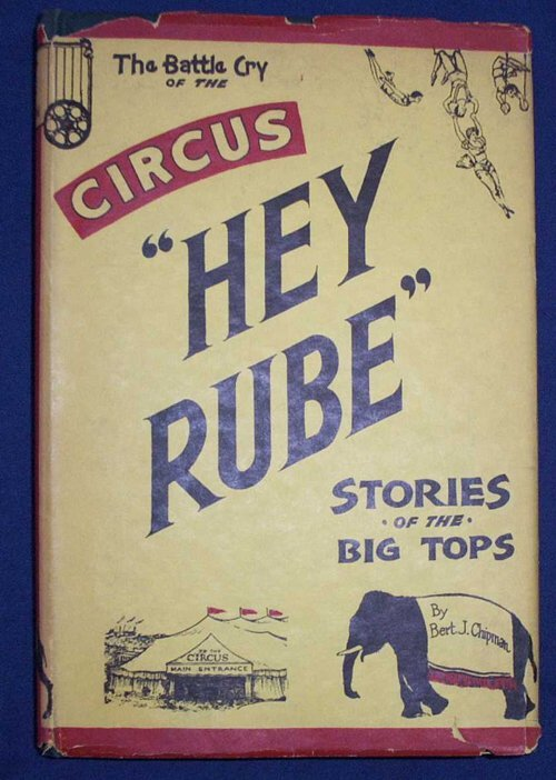 1: 4 vols.  Circuses, Fairgrounds & Carousels