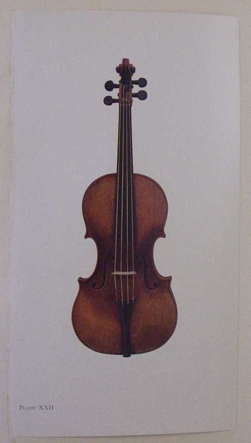 18: 1 vol.  The Hawley Collection of Violins.