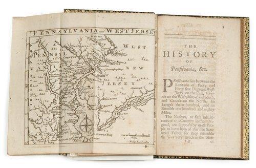 183: 1 vol.  Thomas, Gabriel. An Historical A