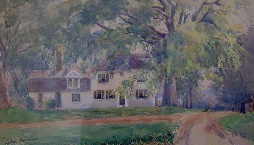 1004: ALICE CUSHMAN (American b 1854) HAMPTON