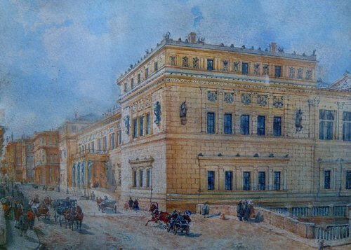 1013: RUSSIAN SCHOOL (Late 19th Century) ST.