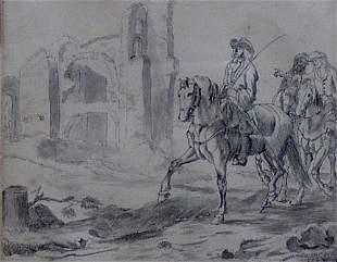 ATTRIBUTED TO JOHANNES LINGELBACH (Dutc