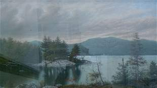 LOUIS GRUBE (American 1812-1902) FIGURE