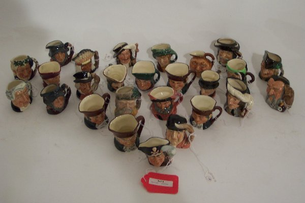 2006: TWENTY-SEVEN MINIATURE ROYAL DOULTON CH