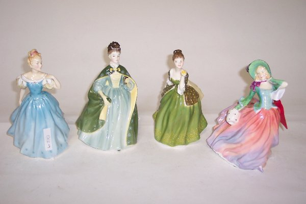 2023: FOUR ROYAL DOULTON FIGURES