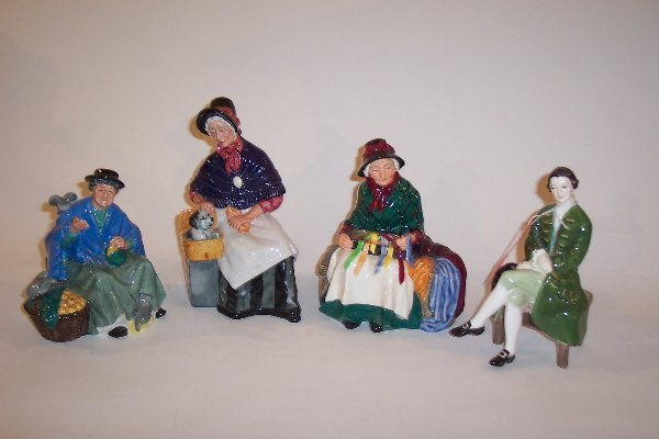 2024: FOUR ROYAL DOULTON FIGURINES