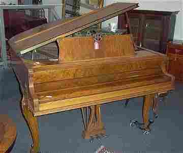 2709: LOUIS XV STYLE KNABE BABY GRAND PIANO,