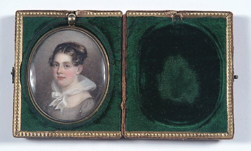 1: MINIATURE PORTRAIT OF A YOUNG WOMAN  Signe