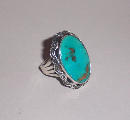 5: SOUTHWEST AMERICAN INDIAN SILVER & TURQUOI
