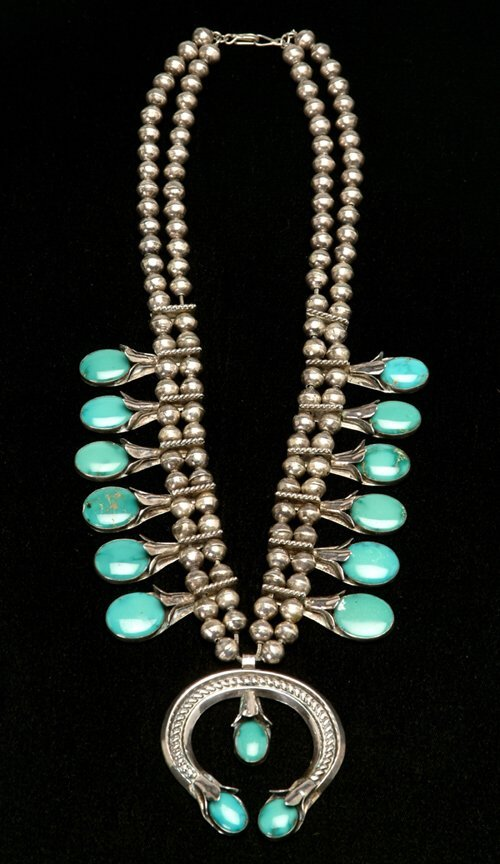 7: SOUTHWEST AMERICAN INDIAN SILVER & TURQUOI