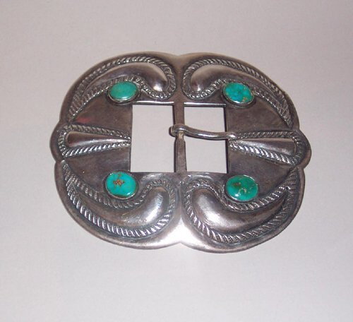 8: LARGE SOUTHWEST AMERICAN INDIAN SILVER & T