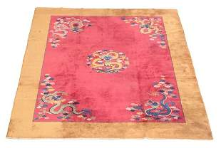 CHINESE CARPET Ca. 1930 Approximately 11