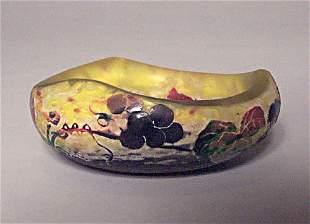 DAUM NANCY CAMEO VIDE POCHE Etched, carve