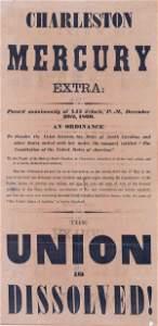 515: (Printed American Confederate Broadside.