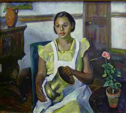 MARIAN D. HARRIS (American 1904-1988) P