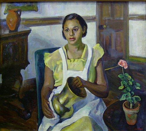 1003: MARIAN D. HARRIS (American 1904-1988) P