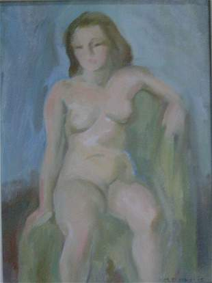 MARIAN D. HARRIS (American 1904-1988) S