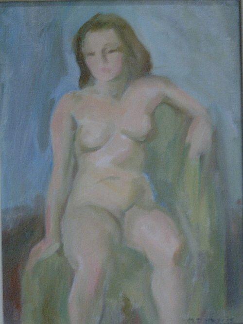 1008: MARIAN D. HARRIS (American 1904-1988) S