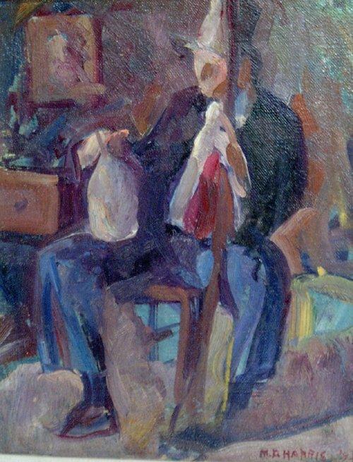 "1011: MARIAN D. HARRIS (American 1904-1988) """
