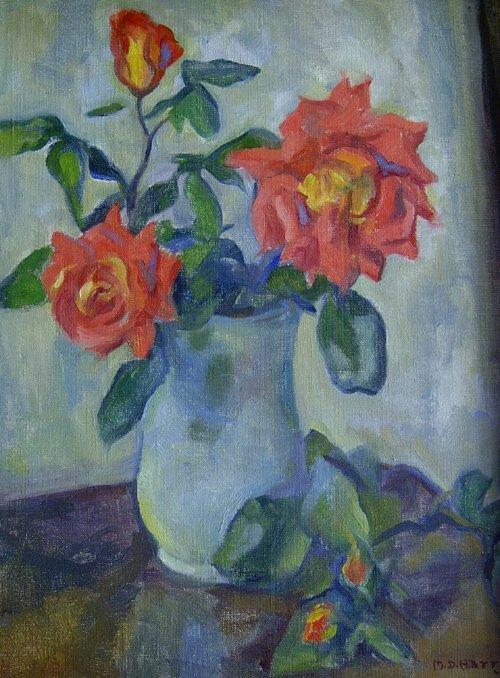 "1012: MARIAN D. HARRIS (American 1904-1988) """