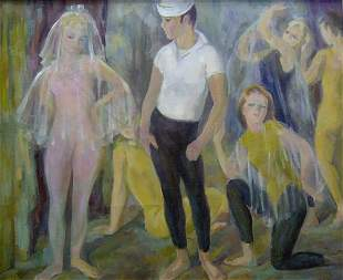 "MARIAN D. HARRIS (American 1904-1988) """