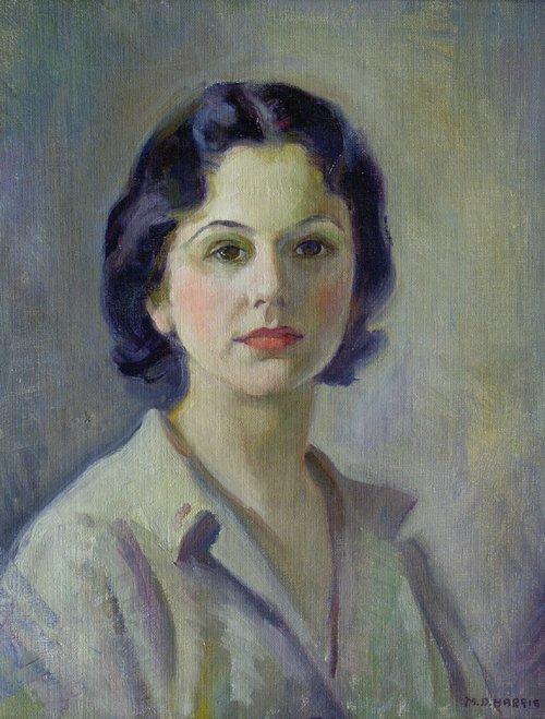 1016: MARIAN D. HARRIS (American 1904-1988) S