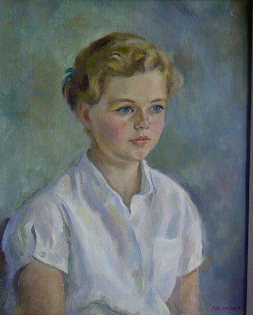 "1019: MARIAN D. HARRIS (American 1904-1988) """