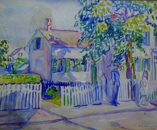 "1020: MARIAN D. HARRIS (American 1904-1988) """