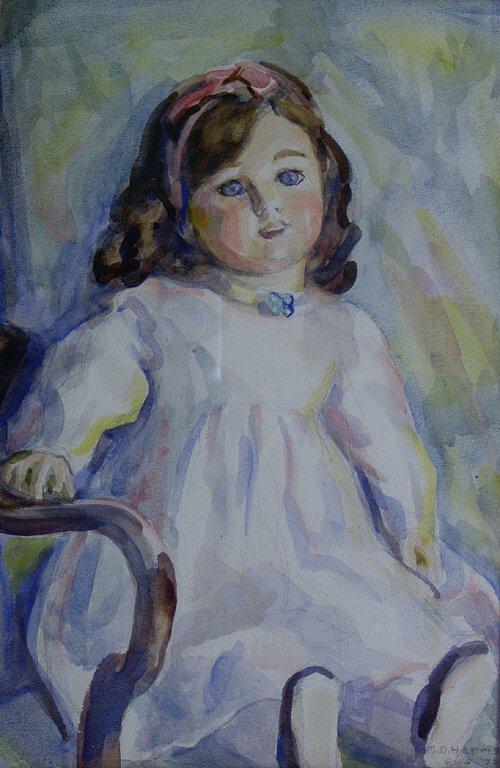 1022: MARIAN D. HARRIS (American 1904-1988) D