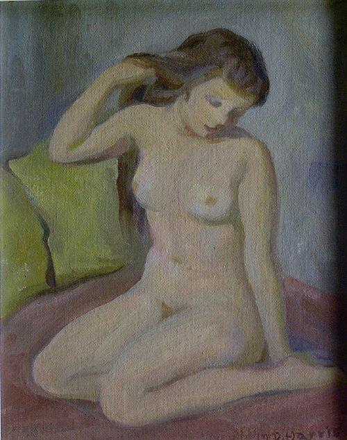 "1023: MARIAN D. HARRIS (American 1904-1988) """