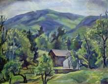"1042: MARIAN D. HARRIS (American 1904-1988) """