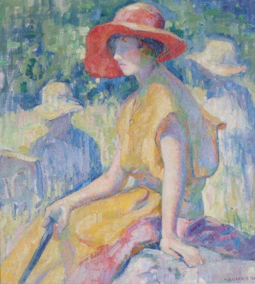 "1047: MARIAN D. HARRIS (American 1904-1988) """