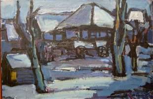 "HENK WILLEMESE (Dutch 1915-1980) ""FARME"
